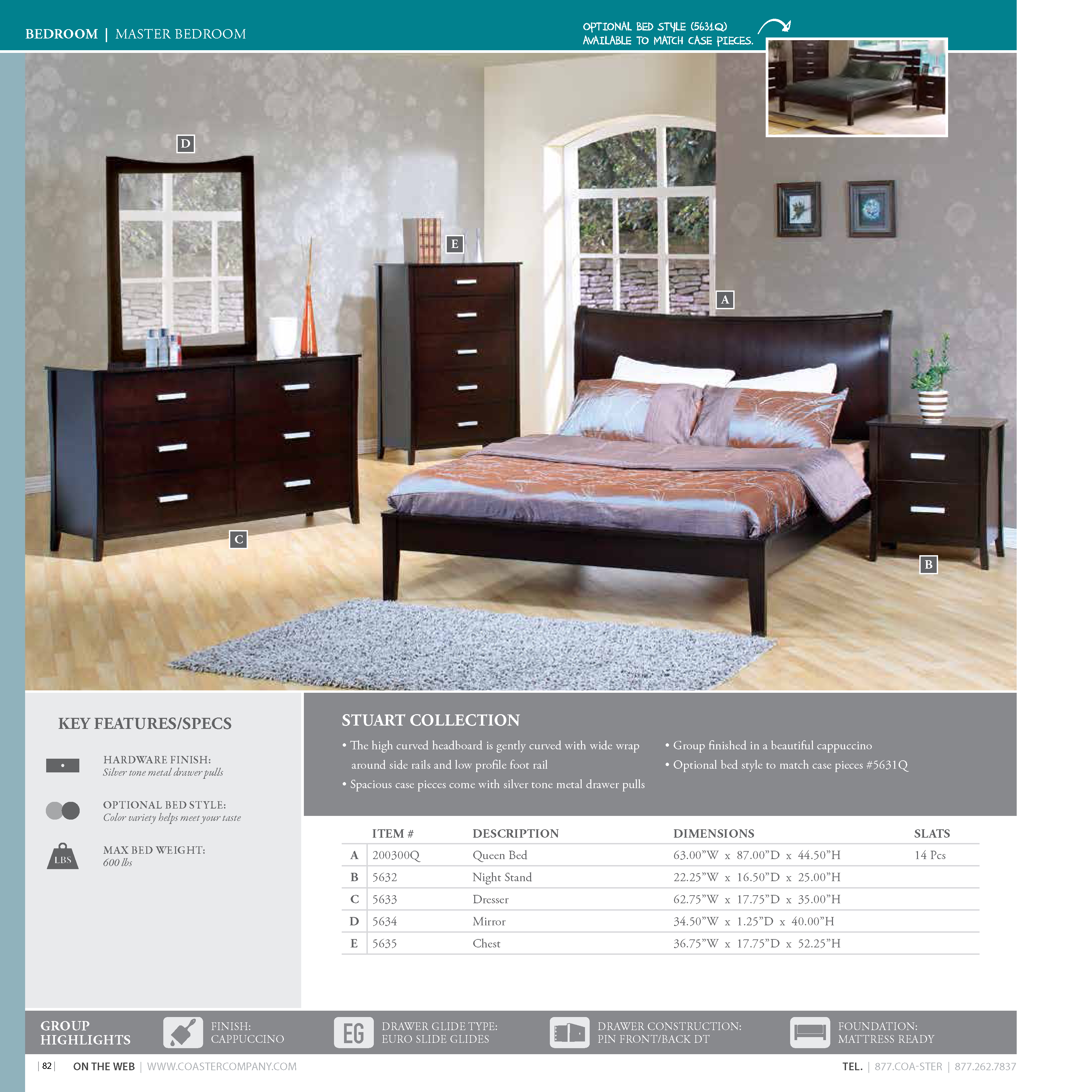 Coaster 2016 Bedroom Catalog | Lisys Discount Furniture