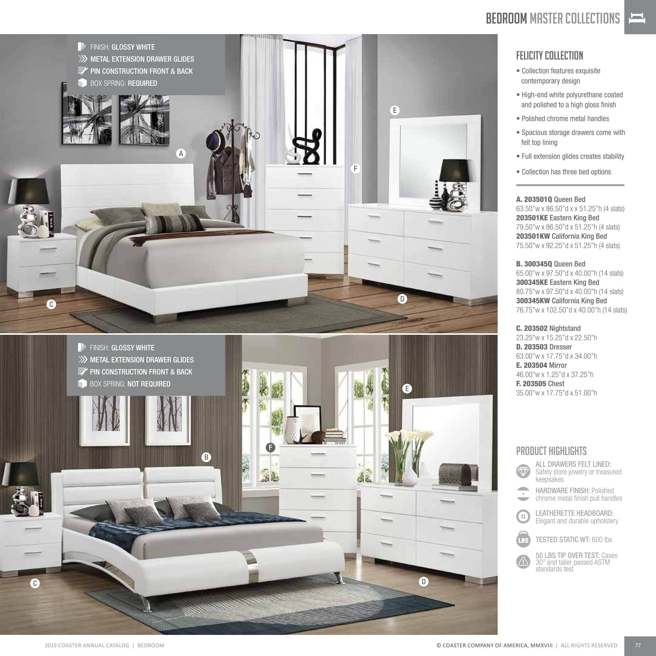 2019 Bedrooms | Lisys Discount Furniture