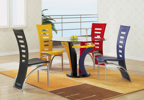 5443DT Dining Set Multi Color – Lisys Discount Furniture