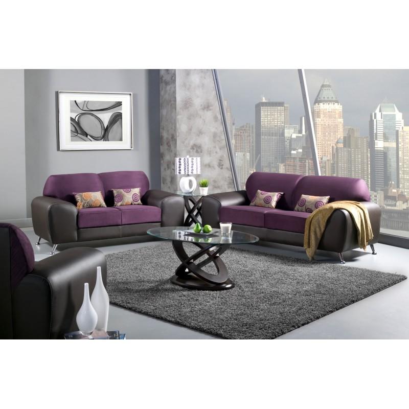 Grape Suede Foa – Lisys Discount Furniture